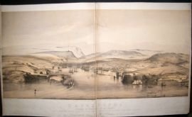 Hanhart after Telbin & Brandard 1854 LG Folio. Sebastopol, Crimea, Ukraine